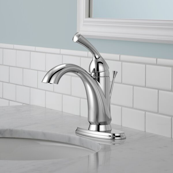 Haywood Centerset Bathroom Faucet with Drain Assembly and Diamond Seal Technology by Delta Delta
