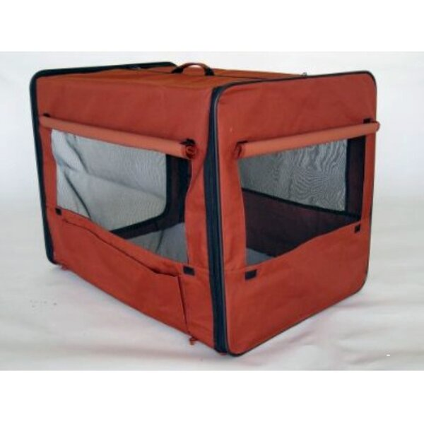 Soft Sided Indoor/Outdoor Pet Crate by Go Pet Club