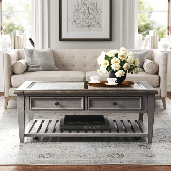Marion Coffee Table With Storage By Kelly Clarkson Home