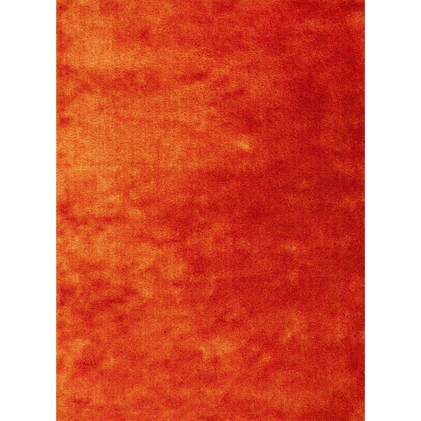 Andre Sunset Orange Indoor/Outdoor Area Rug by Wade Logan