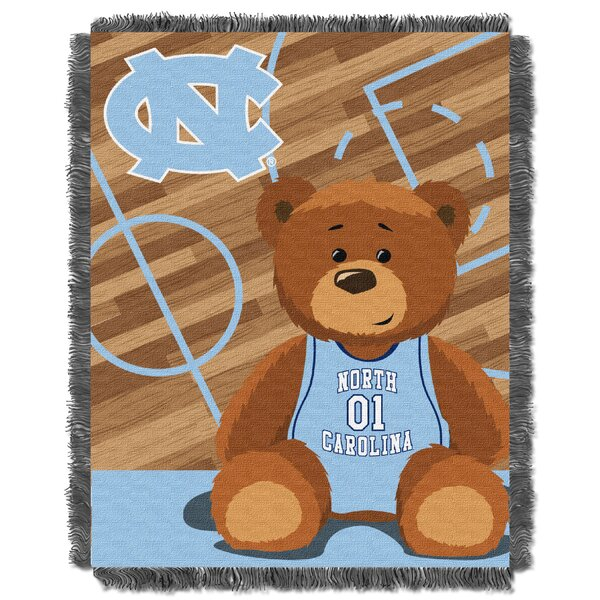 Collegiate UNC Baby Throw by Northwest Co.