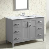 Maryport 49 Single Bathroom Vanity Set by Wrought Studio