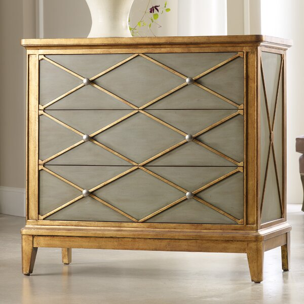 Melange Paxton 3 Drawer Chest by Hooker Furniture