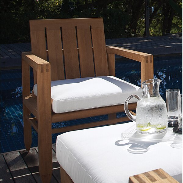 Limited 4 Teak Patio Chair with Cushions by OASIQ