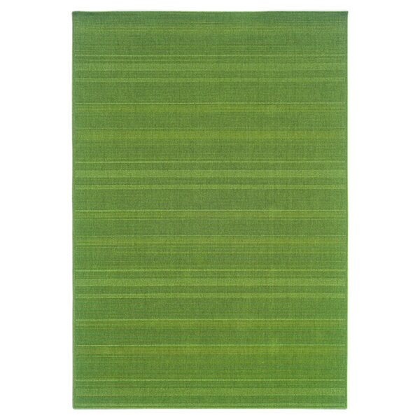Whipple Green Indoor/Outdoor Area Rug by Ebern Designs