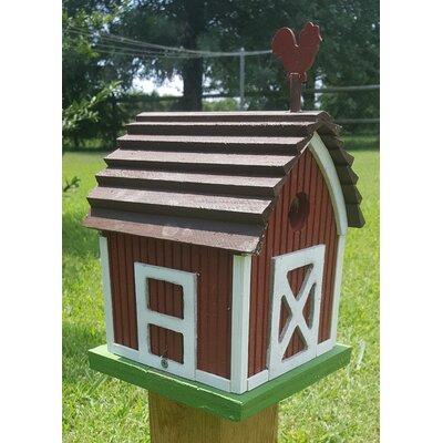 BirdHousesbyMark Small Barn Birdhouse