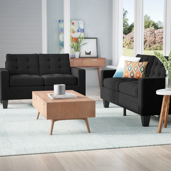 Bateson 2 Piece Living Room Set by Ebern Designs Ebern Designs