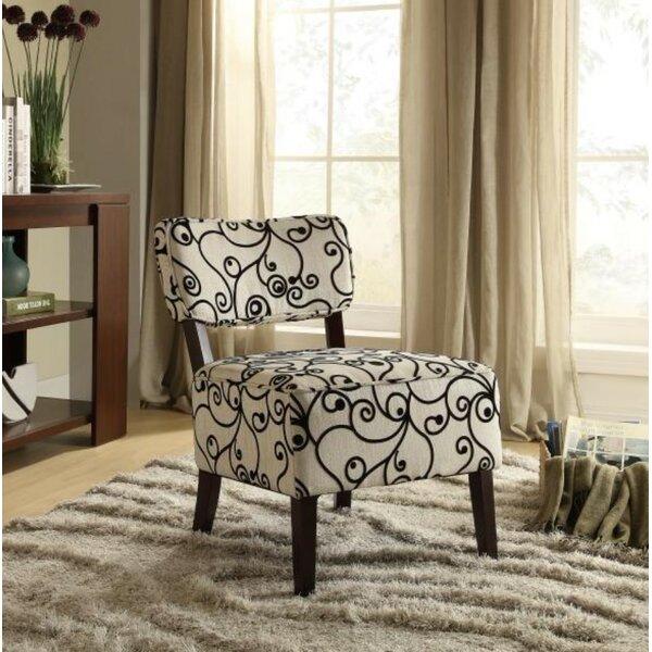Quackenbush Slipper Chair by Winston Porter