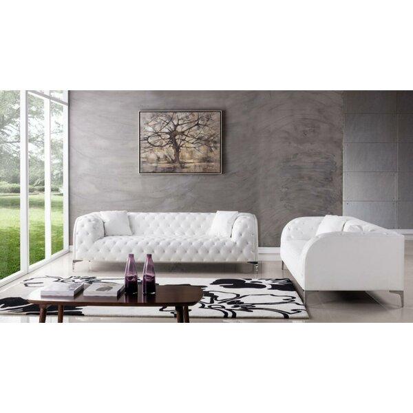 Lu 2 Piece Standard Living Room Set By Everly Quinn