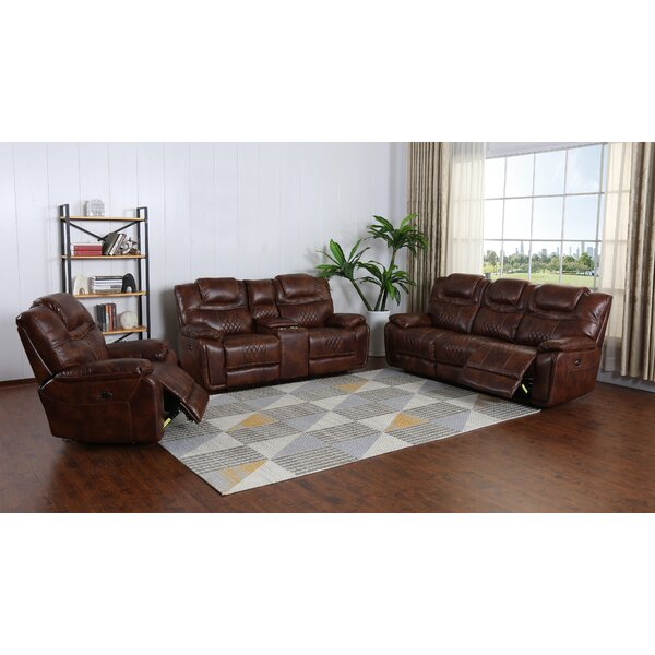Levant Reclining Configurable Living Room Set By Canora Grey