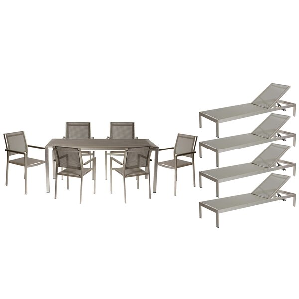 Dorsey 11 Piece Patio Set by Wade Logan