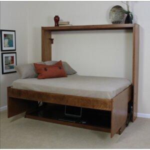 Modern Birch Murphy Bed