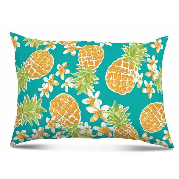 Nedlands Pineapple Outdoor Lumbar Pillow (Set of 2) by Brayden Studio