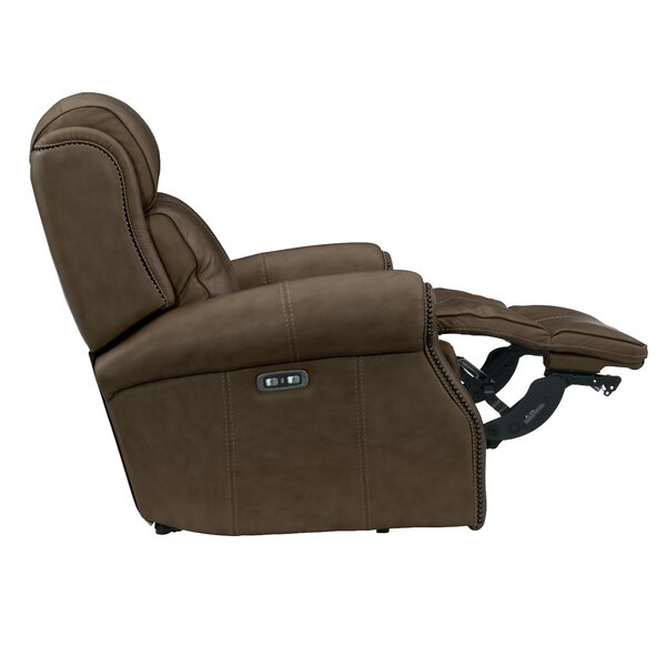 Mcgwire Leather Power Recliner By Bernhardt
