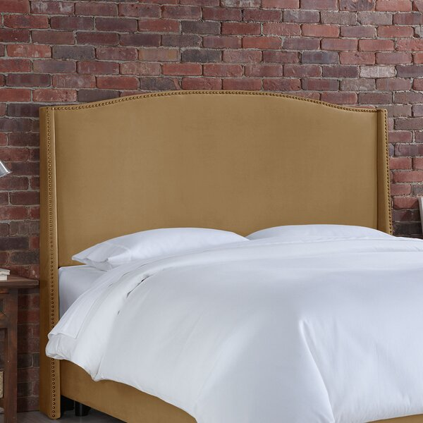 Doleman Contemporary Upholstered Wingback Headboard by Willa Arlo Interiors