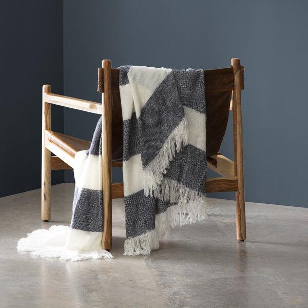 Aurora Coastal Stripe Knit Throw by Eider & Ivory