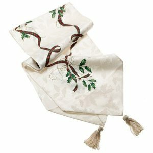 Holiday Nouveau Table Runner by Lenox