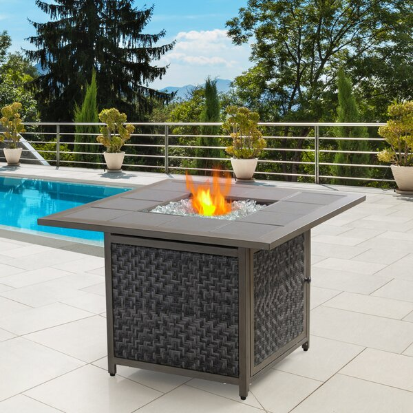 Gas FirePit Table by NUU GARDEN CORPORATION