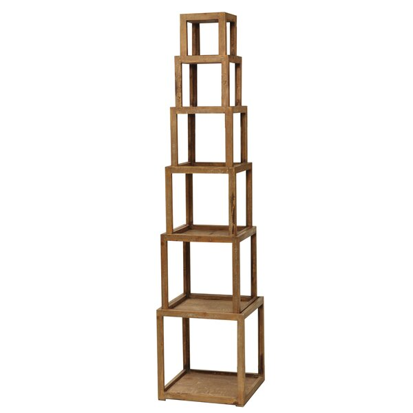 Cheyenne Stackable Etagere Bookcase by Crestview Collection