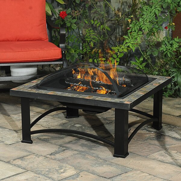 Harbor Steel Wood Burning Fire Pit by Sunjoy