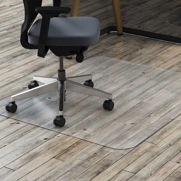 Hard Floor Straight Edge Chair Mat by Lorell