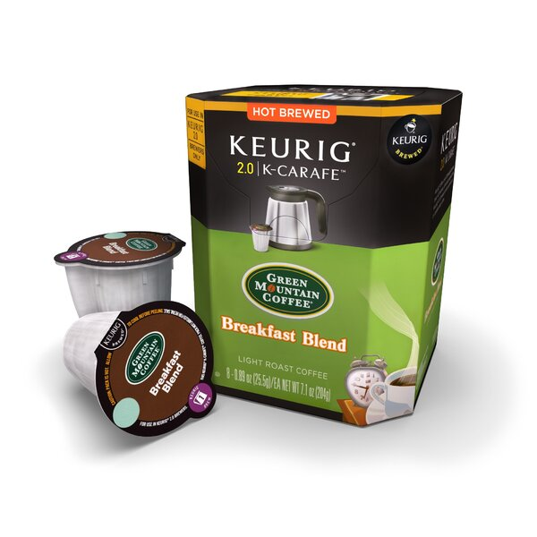 Green Mountain Starter K-Carafe (Pack of 32) by Keurig