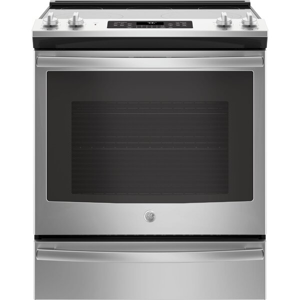 30 Slide-In Electric Range by GE Appliances