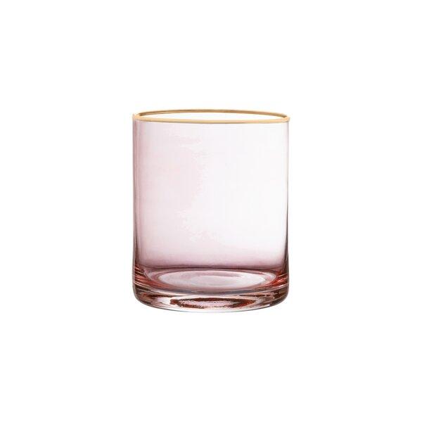 Morena Old Fashion Glass Stemless Vino Glass (Set of 4) by House of Hampton