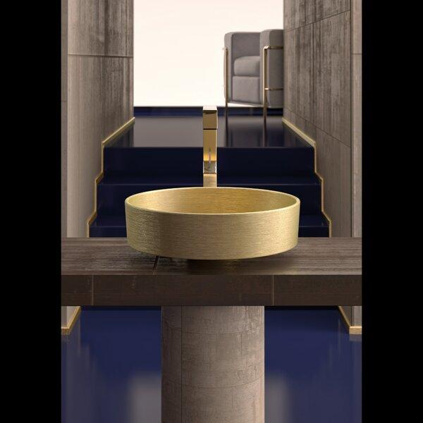 Metropole Circular Vessel Sink by Maestro Bath