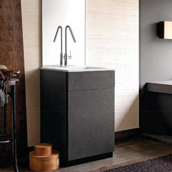City1 24 Single Bathroom Vanity Set by Acquaviva
