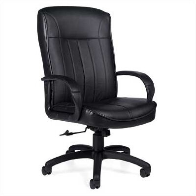 Frisco Leather Executive Chair by Global Total Office