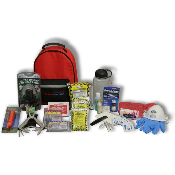 1 Person 3 Day Deluxe Emergency Backpack by Ready