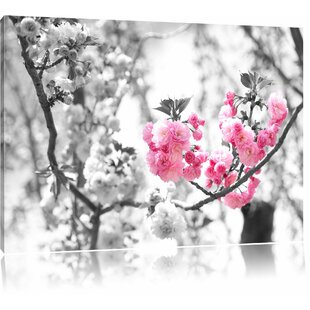 Beautiful Cherry Blossom Wall Art On Canvas