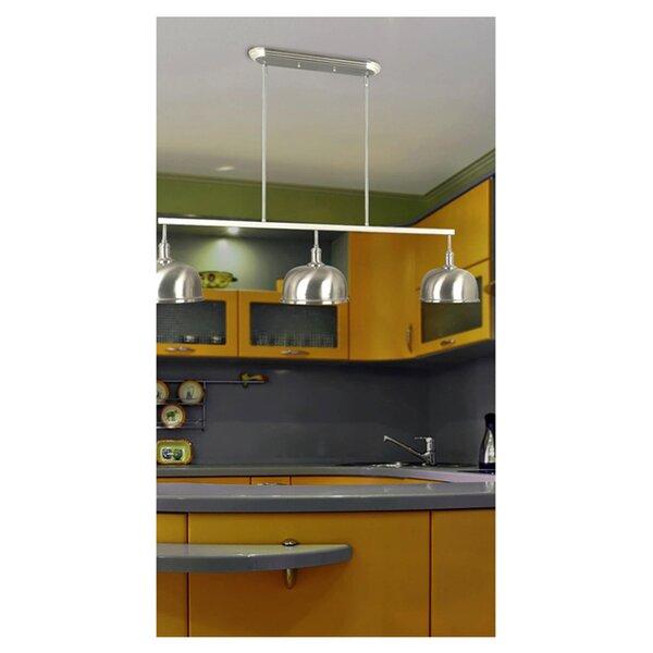 Alice 3-Light Kitchen Island Pendant by Wildon Home ®
