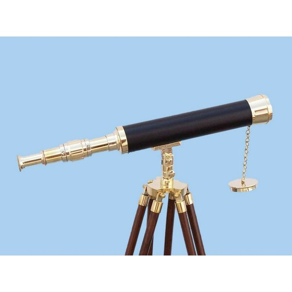 Harbor Master Refracting Telescope by Handcrafted Nautical Decor