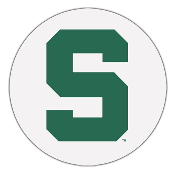 Michigan State University Collegiate Coaster (Set of 4) by Thirstystone
