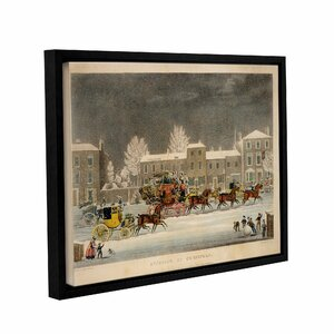 'The Approach To Christmas' Framed Painting Print by Charlton Home