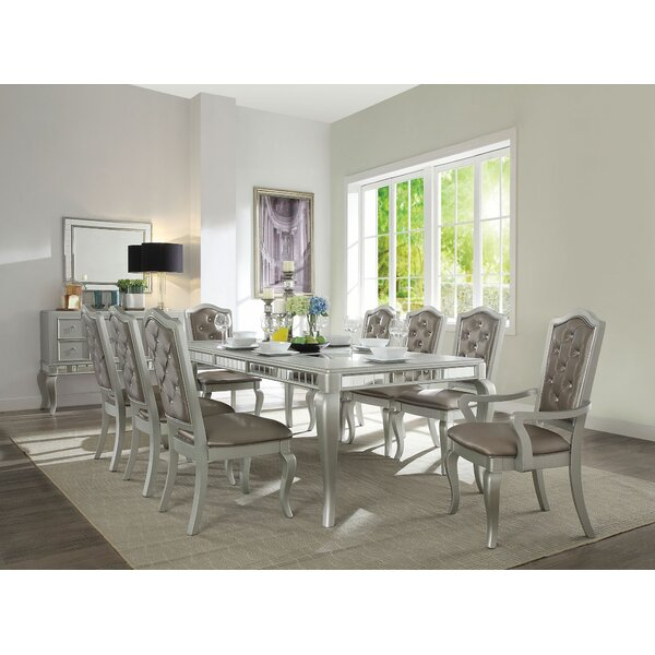 Lynda 9 Pieces Extendable Dining Set by House of Hampton