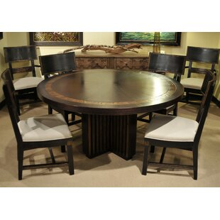 Price comparison Transitions Solid Wood Dining Table ByEastern Legends