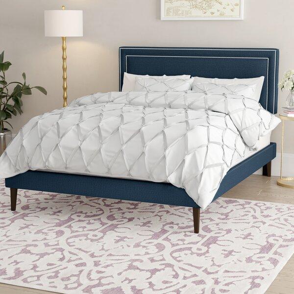 Tarver Upholstered Platform Bed by Mercer41 Mercer41