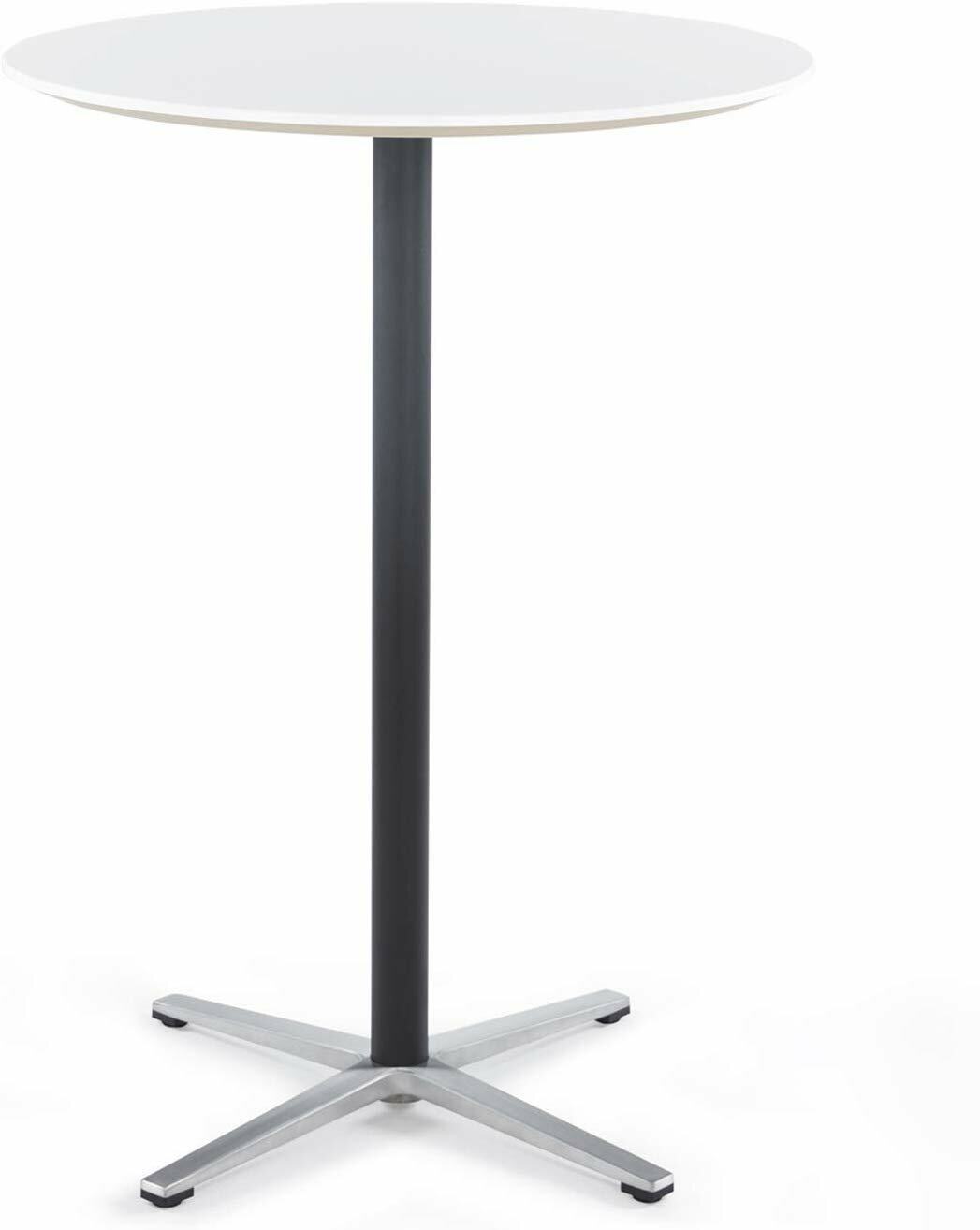 Amazing Round Bar Table Tall Bar Table For Pub Bistro Cocktail Table With Height Black Pedestal And Four Star Leg Pdpeps Interior Chair Design Pdpepsorg