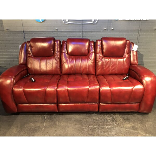 Top Shelf Leather Reclining Sofa by Southern Motion