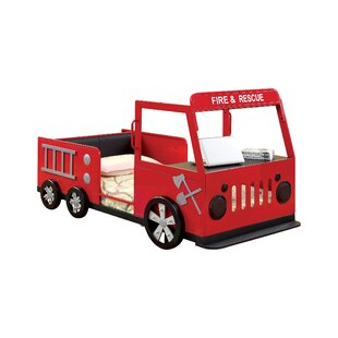 Fire Engine Twin Car Bed By Hokku Designs