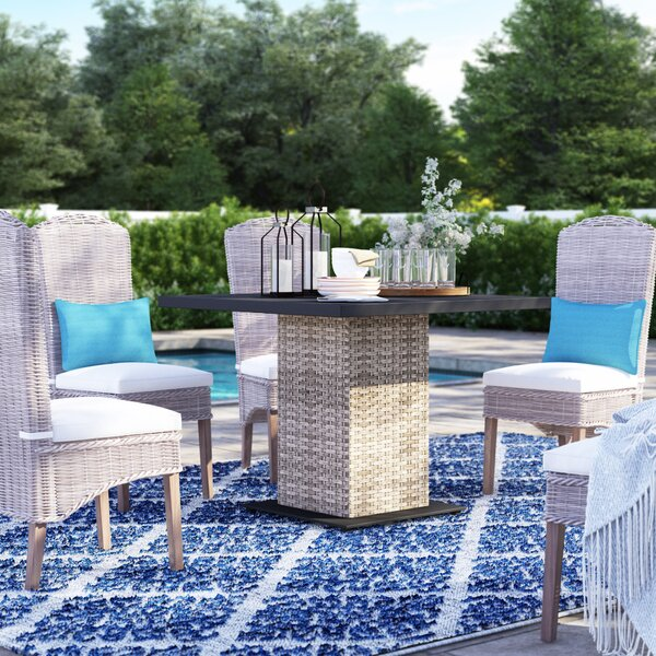 Rochford Wicker Dining Table by Sol 72 Outdoor