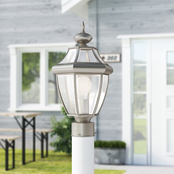 Weisberg Outdoor 1-Light Lantern Head by Charlton Home®
