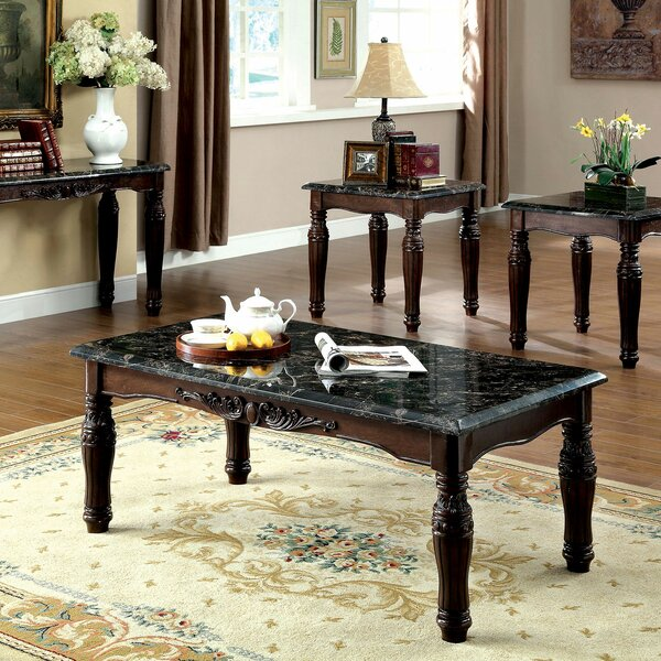 Delvecchio 3 Piece Coffee Table Set