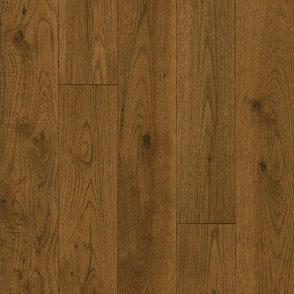 Impressions 5 Engineered Hickory Hardwood Flooring in Deep Etched Haystack by Armstrong Flooring