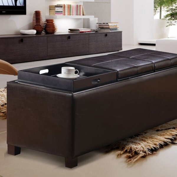 Storage Ottoman by Adeco Trading