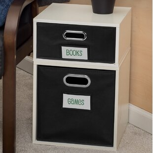 Good stores for Chastain Storage Cube Unit Bookcase Rebrilliant