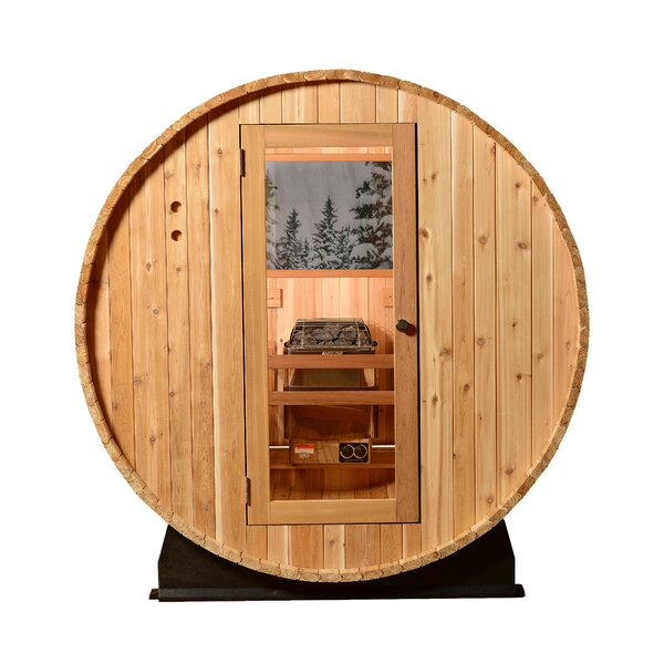 Pinnacle Vista 4 Person Traditional Steam Sauna by Almost Heaven Saunas LLC